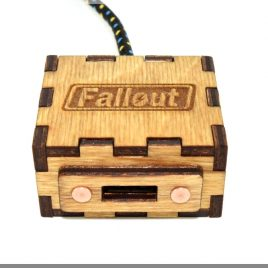 Fallout USB Extention Cord with 1M(3FT) Durable Knit Nylon Cable. Game gadget