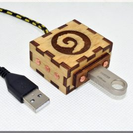 Warcraft Hearthstone USB Extention Cord with 1M(3FT)Durable Knit Nylon Cable