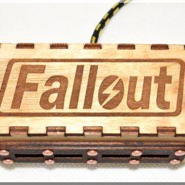 Fallout Wooden 4 ports USB spliter HUB.
