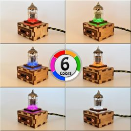 Wooden Pentode USB Extention Cord with 1M(3FT) Durable Knit Nylon Cable